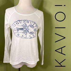 "S ""Ogunquit Maine"" long sleeved tee-shirt"